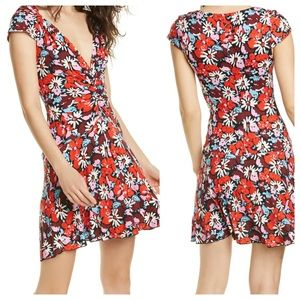 Free People Key to Your Heart Floral Mini Dress